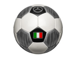 Футбольный мяч Mercedes Football Size Team Italy