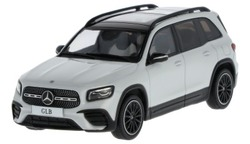 Модели автомобилей Mercedes GLB (X247), Digital White