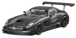 Модели автомобилей Mercedes SLS AMG GT3, 45 years of AMG, Matt Black